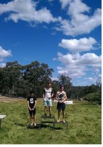 M20E Placegetters- Matt Doyle 1st, Oscar McNulty 2nd, Matt Goodall 3rd.